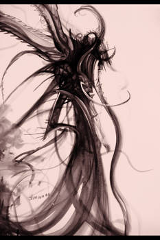 dark angel by HeartySpades