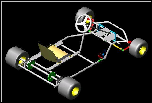 Go-Kart Design by oneEdge