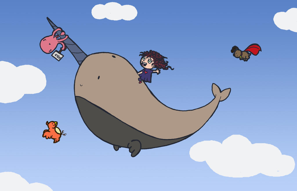 The Adventures of Dee Dee and the Flying Narwhal by Mazdi