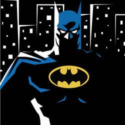 Stylized Batman