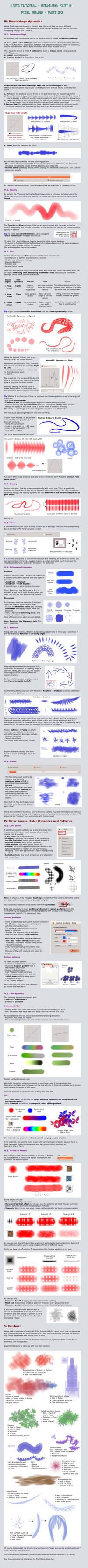 Krita Tutorial: Brushes Part B, Pixel Brushes 2/2