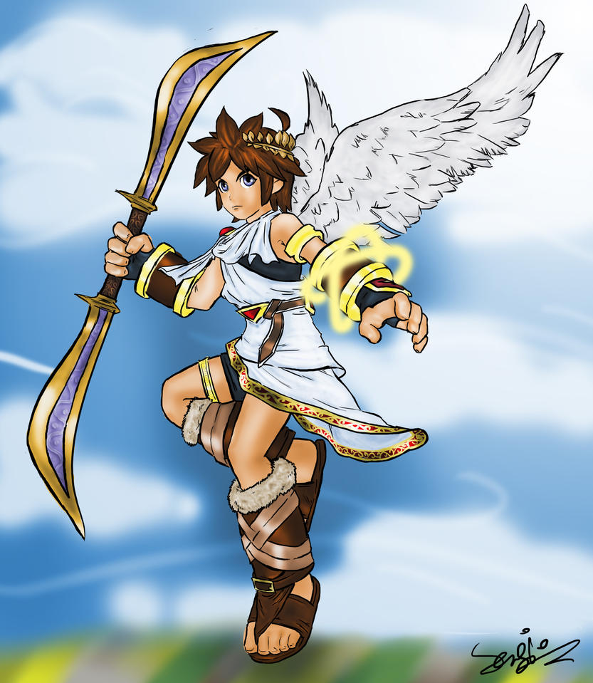 Kid Icarus Pit By Serspi On DeviantArt
