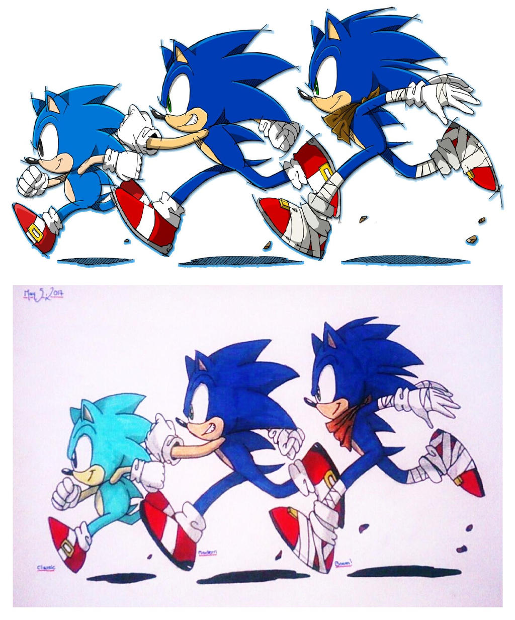 Sonic The Hedgehog Classic Modern And Boom 2 By Shinobiassassin19 On Deviantart