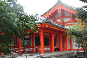 The Sanjusangen-do Temple in Kyoto