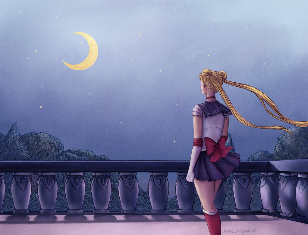 Sailor Moon  Screencap Repaint by carouselclover