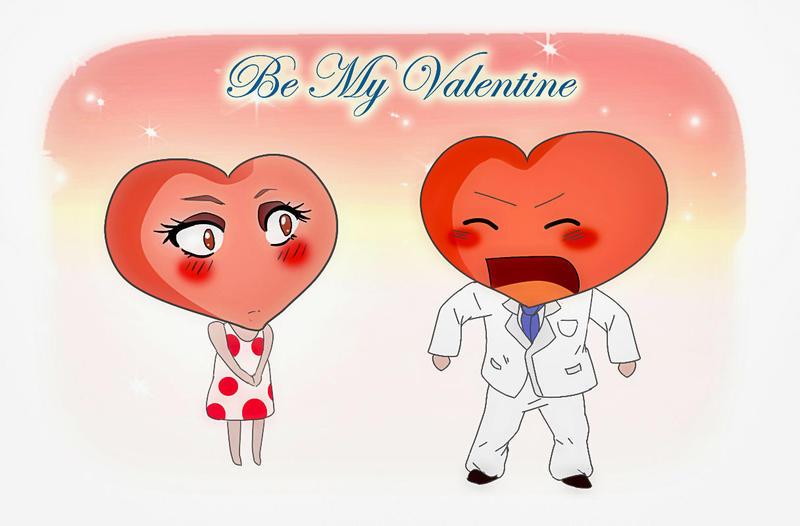 Be My Valentine by Alena-sempai