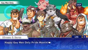 Housamo Gay Men Only Pride Month