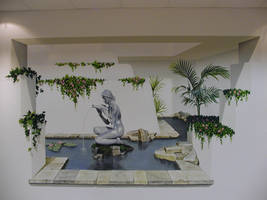 watergarden mural by der-dekorationsmaler