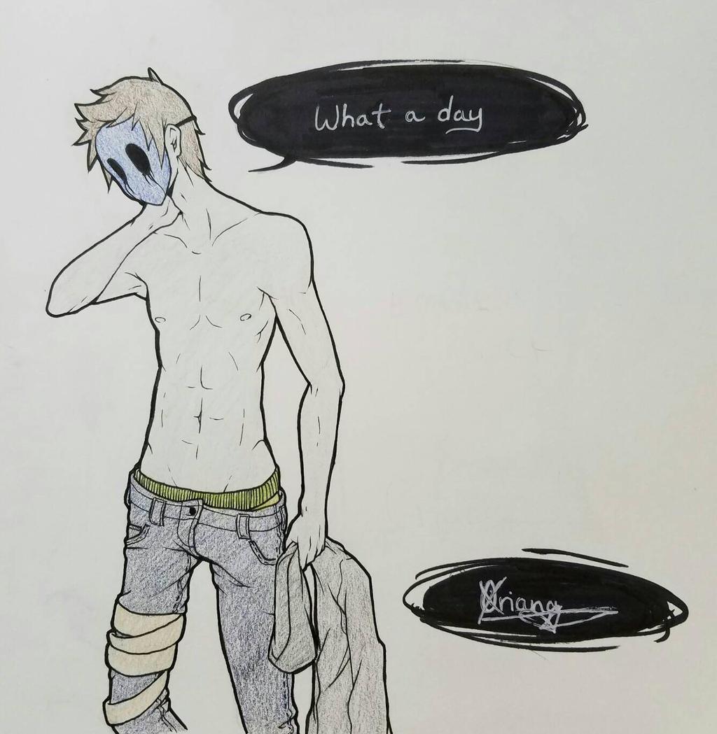 What a Day by DarkKittyOwO on DeviantArt
