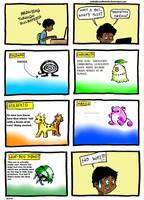 Pokemon's early stages by 1stNeilJasonRebello