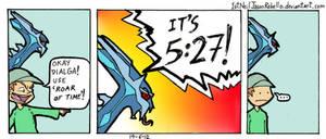 Dialga's ultimate attack