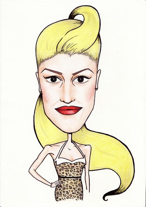Gwen Stefani by Ivana-Zd