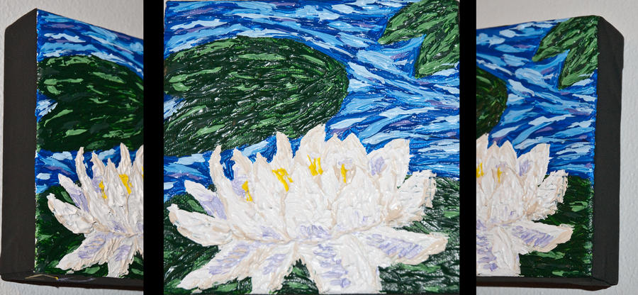 Monets water lilies and van goghs