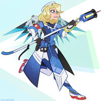 Combat Medic Ziegler by spacekitsch