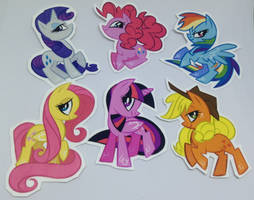 mlp stickers - free US shipping by spacekitsch