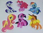 mlp stickers - free US shipping