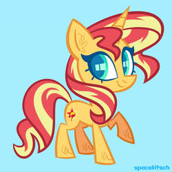 Sunset Shimmer 2019 by spacekitsch