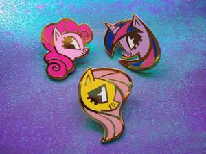 Pony Enamel Pins