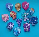 Enamel Pony Pins