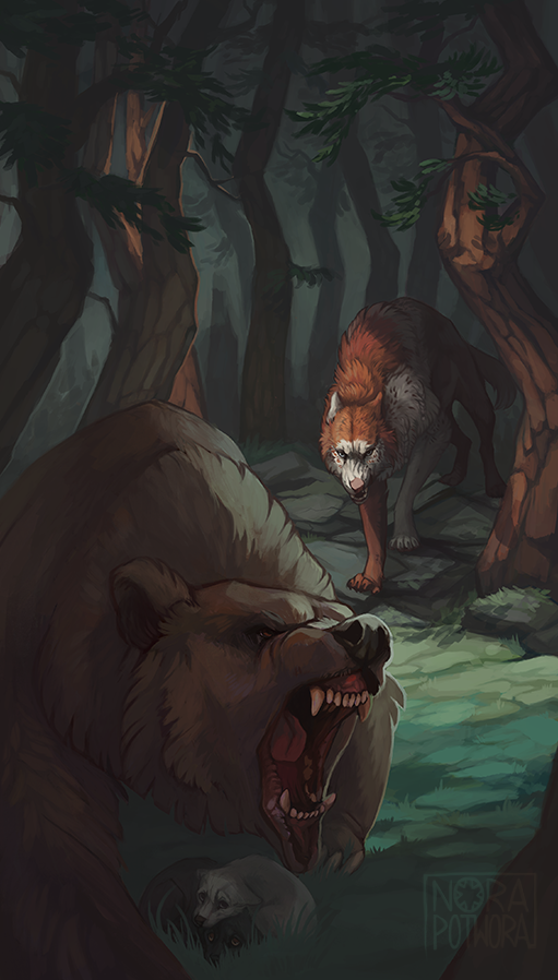 Double Hunt by norapotwora