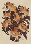 Foxes by norapotwora