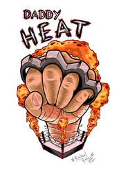 DADDY HEAT - Logo Design (Commission)