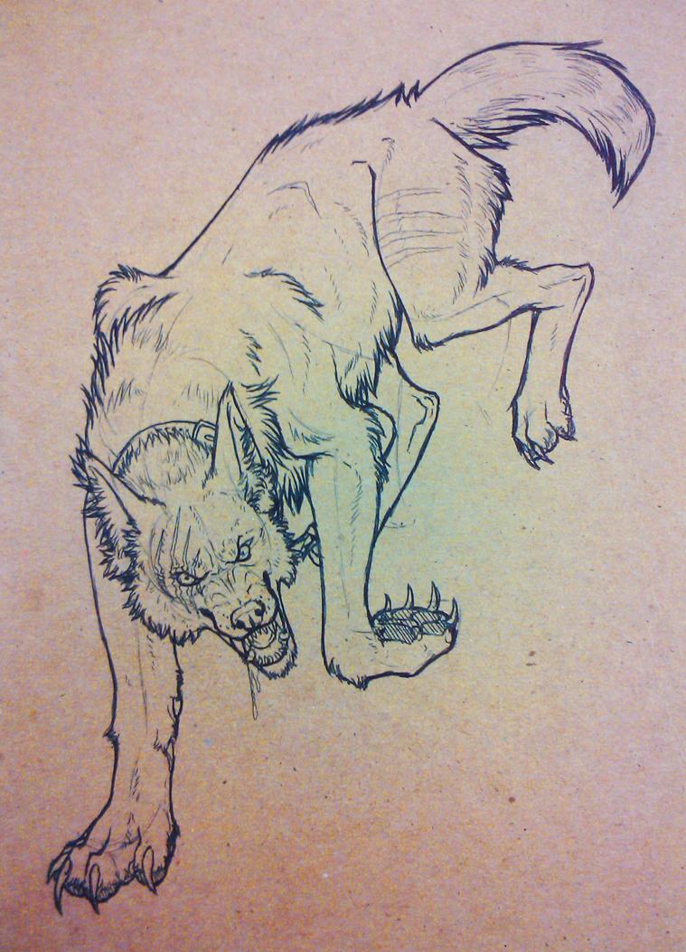 Guard Dog by Demonic-Pokeyfruit