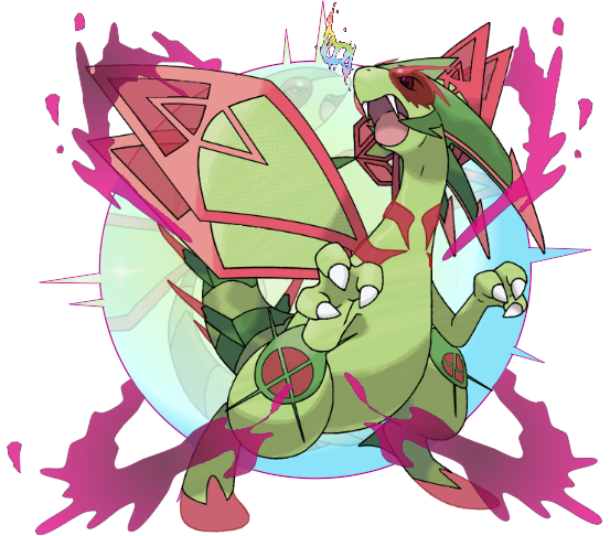 Mega Flygon by CoolShallow