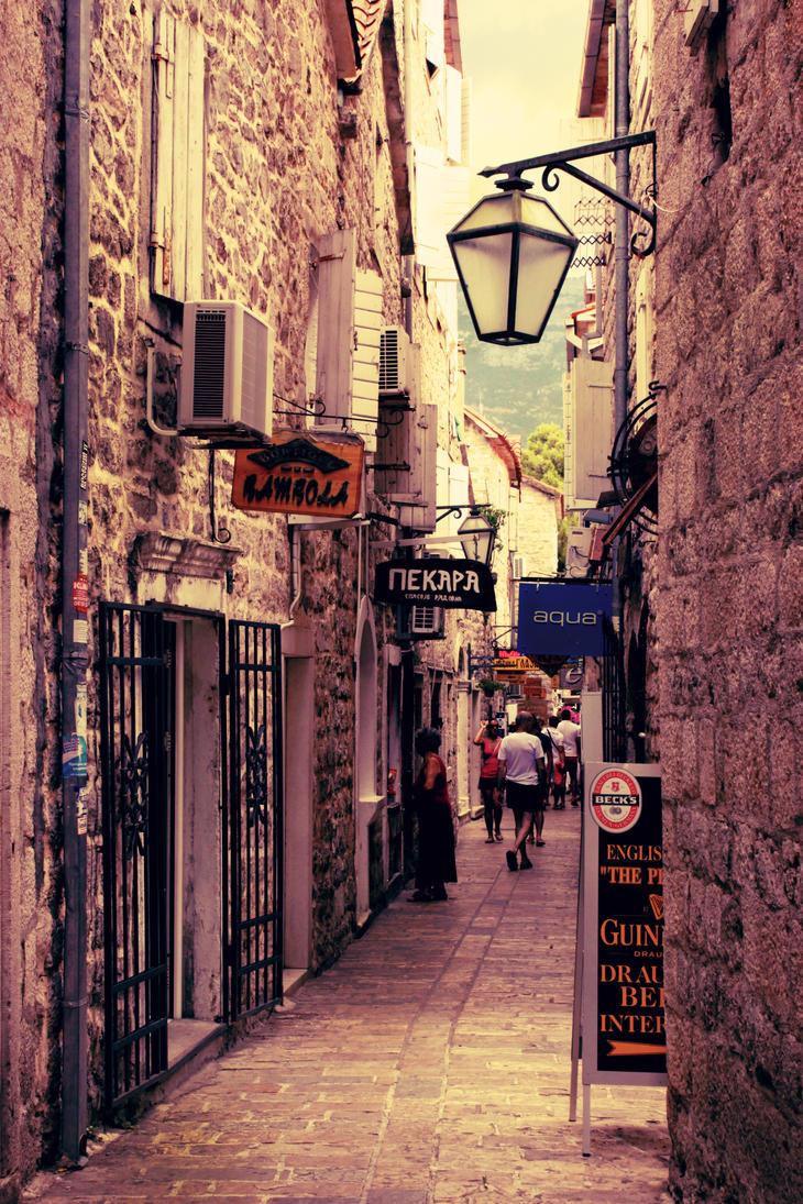 Old City Budva by IHaveSeenTheRain
