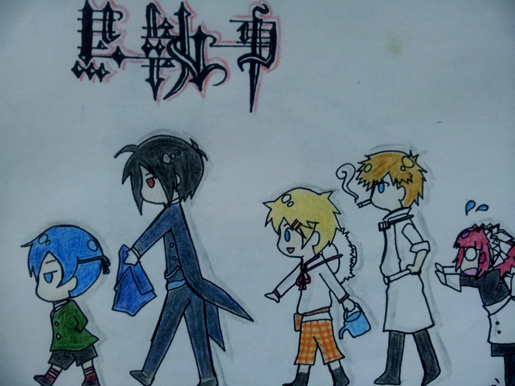 Chibi cute characters of Black Butler by Faikesworld on ...