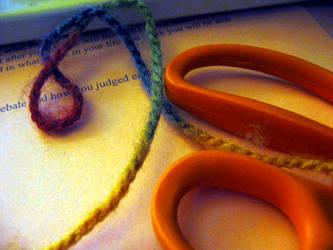 Yarn and Scissors by marisol