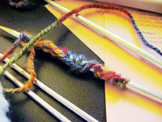 Yarn and Needle by marisol