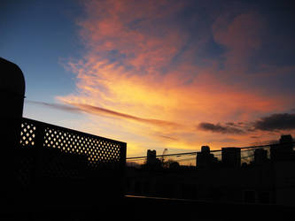 Sunset over Soma, Number Two by marisol