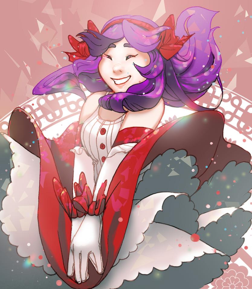 Magical Girl Miko by Aridax
