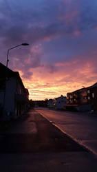 summer sunset by ItsThisWorld