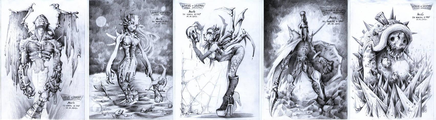 Zombie Contest- Harrowing 2013- League of Legends