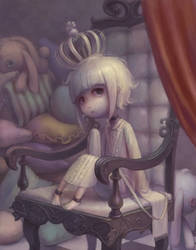 the throne by Daiyou-Uonome