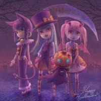 Halloween 2010 by Daiyou-Uonome