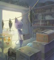 Organize luggage by Daiyou-Uonome