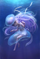 Jellyfish by Daiyou-Uonome