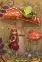 Mushroom by Daiyou-Uonome