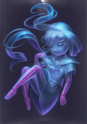 Specimen girl by Daiyou-Uonome