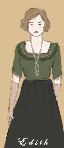 Downton Abbey: Edith