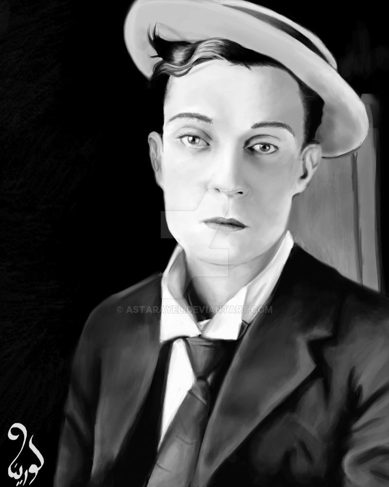 Prize - Buster Keaton by astarayel