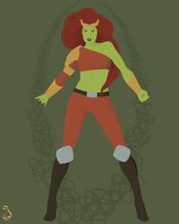 Marvel Women - A to Z - Lyra (redux) by astarayel
