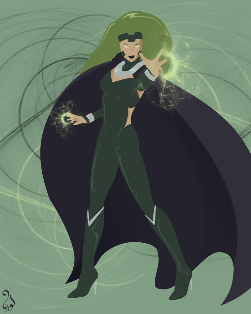 Marvel Women - A to Z - Polaris by astarayel