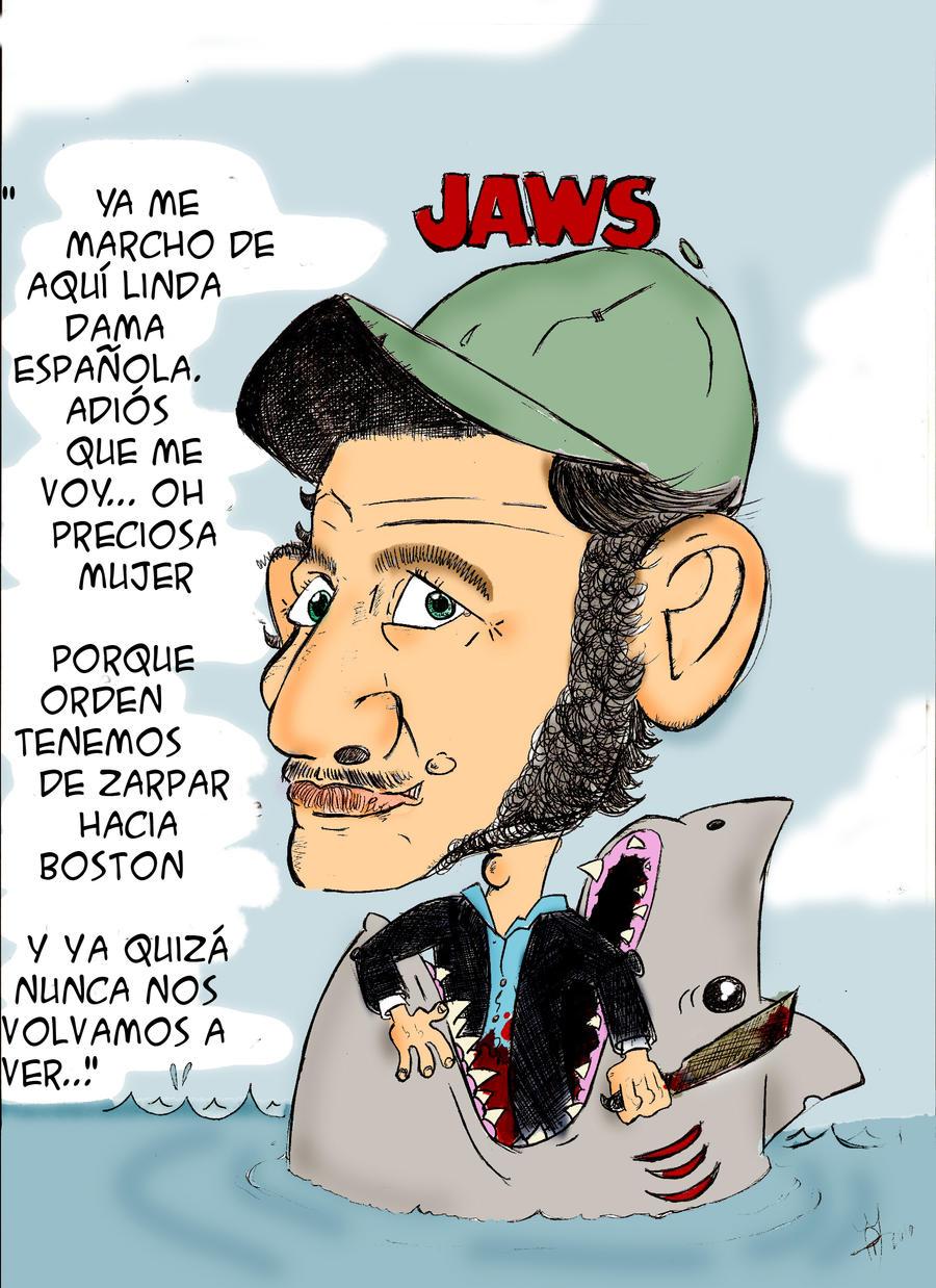 Quint Jaws By Drfleibur On Deviantart