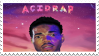 Chance The Rapper - Acid Rain Stamp by DeathTrapKid