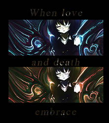 When love and death embrace by Brillion