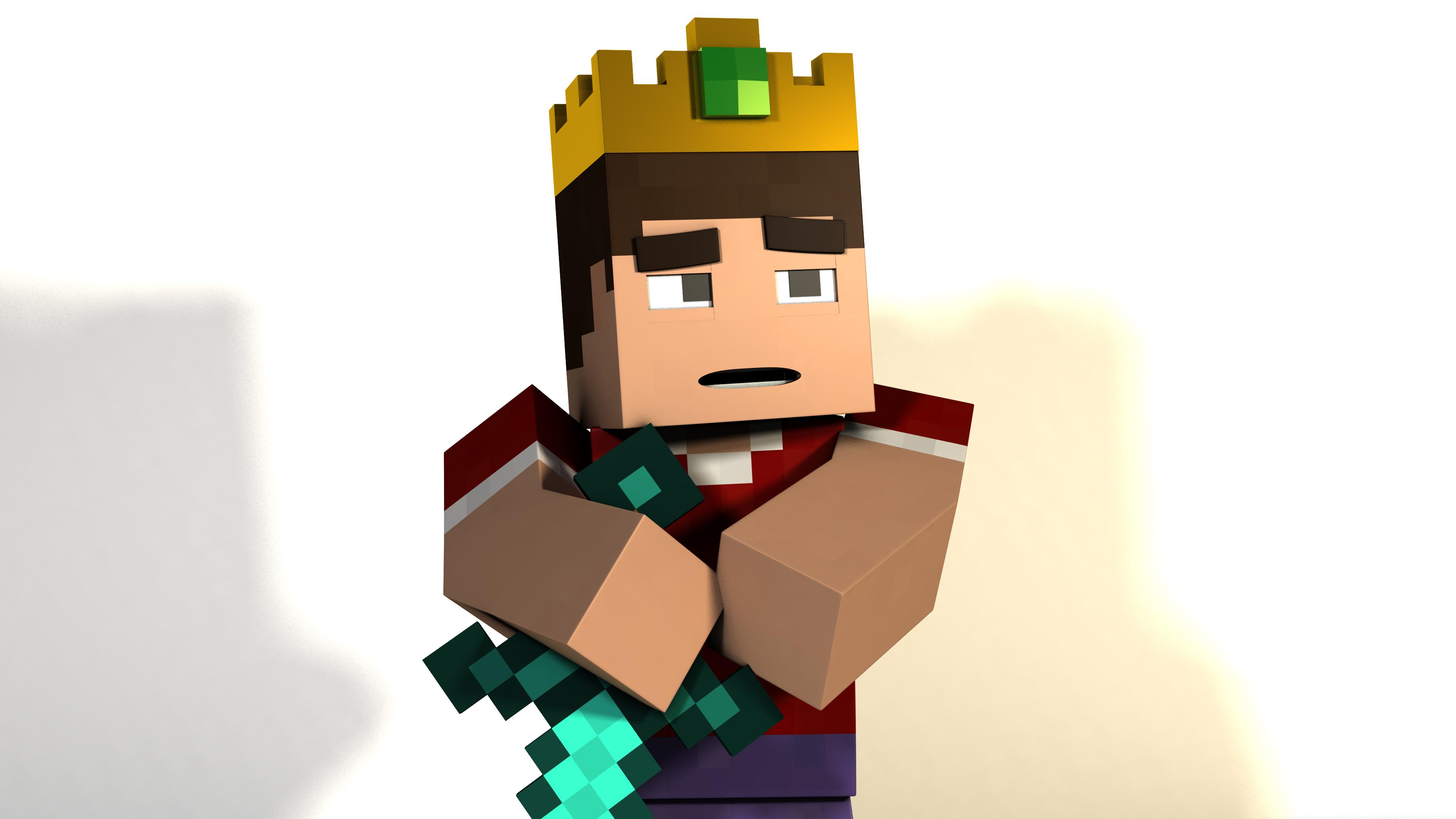 Minecraft 4k Render: The King by Minecheesecraft on DeviantArt